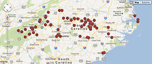Craft Brewery Map Craft Brewery Saturation