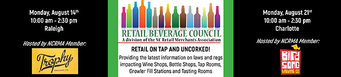 Retail On Tap and Uncorked