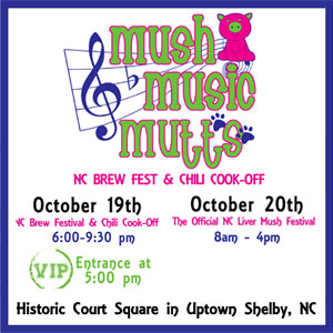 Mush, Music & Mutts Beer Festival